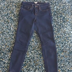J. Crew Stretch dark wash jeans